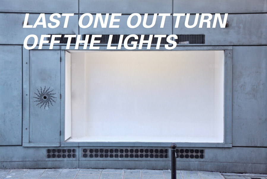 Gabriel Hensche /  LAST ONE OUT TURN OFF THE LIGHTS
